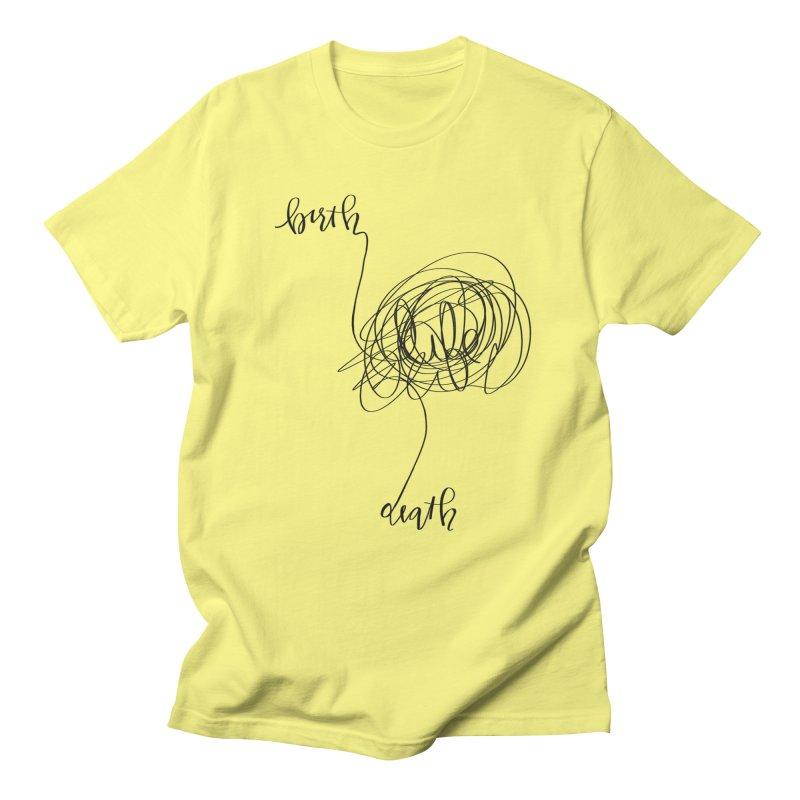 Lifelines Men's T-Shirt by lopesco's Artist Shop