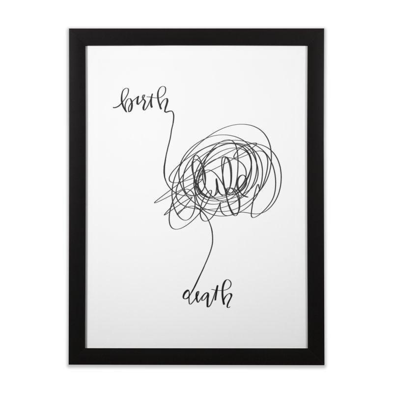 Lifelines Home Framed Fine Art Print by lopesco's Artist Shop