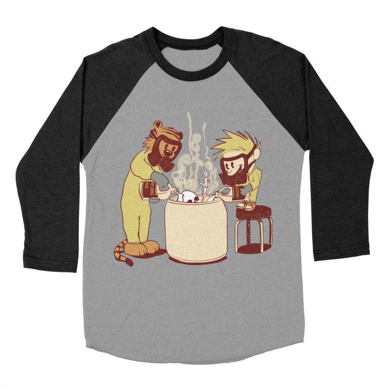 (Dis)solving the Matter Men's Baseball Triblend T-Shirt by lopesco's Artist Shop