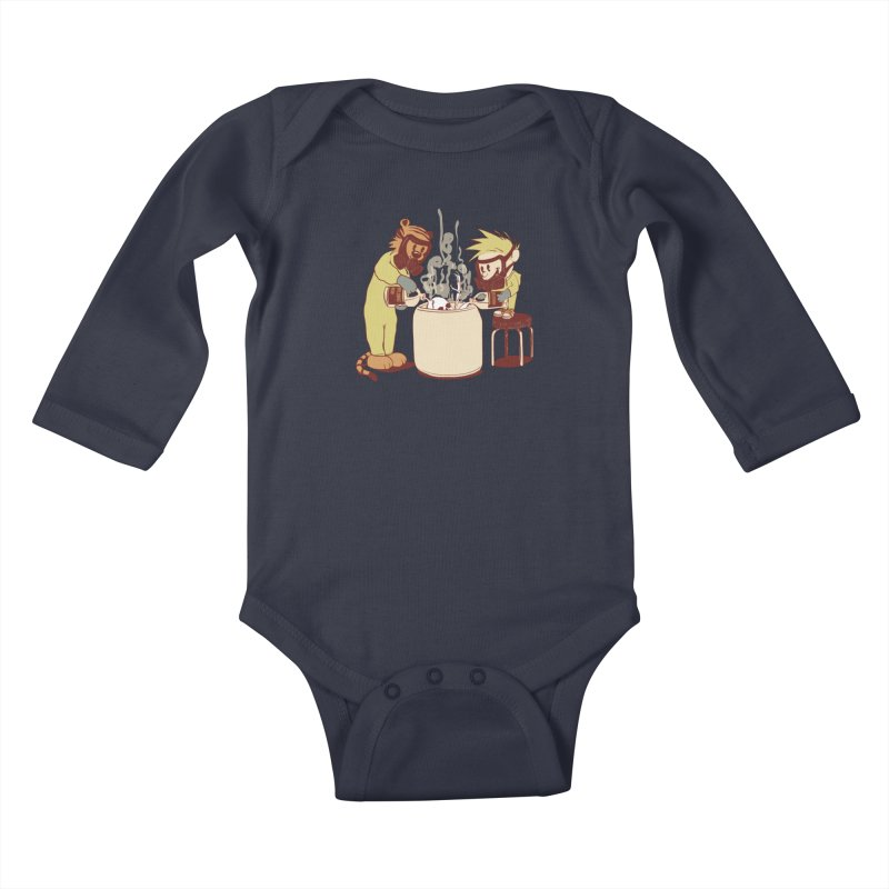 (Dis)solving the Matter Kids Baby Longsleeve Bodysuit by lopesco's Artist Shop