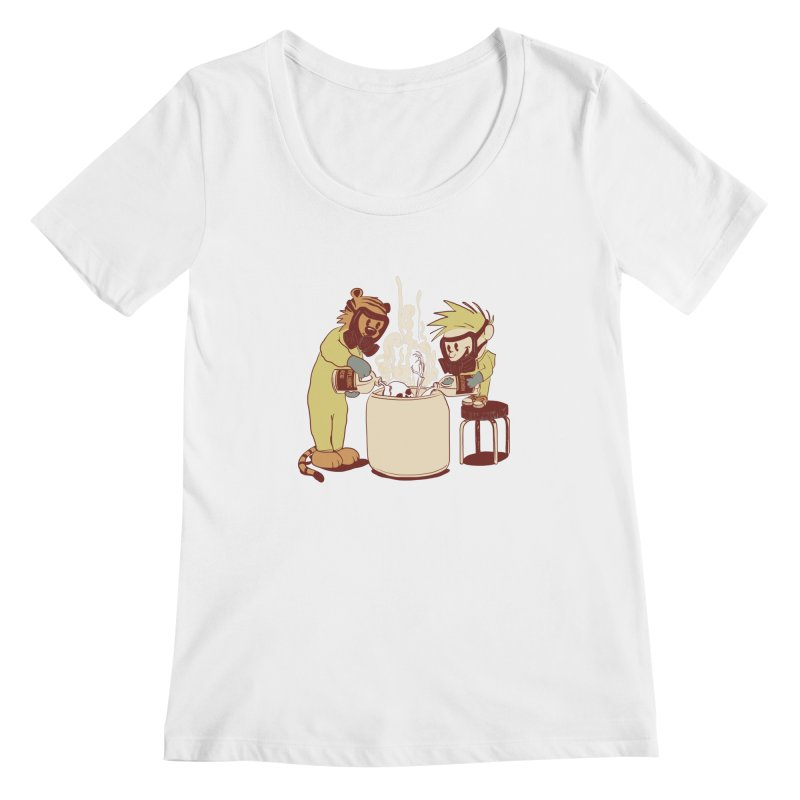 (Dis)solving the Matter Women's Scoopneck by lopesco's Artist Shop
