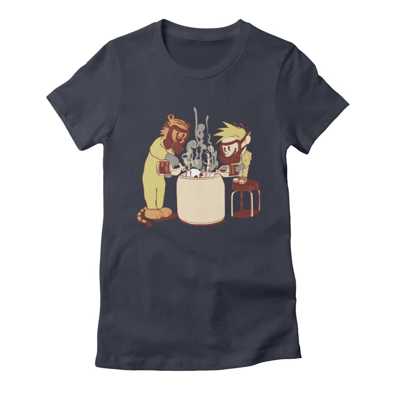 (Dis)solving the Matter Women's Fitted T-Shirt by lopesco's Artist Shop