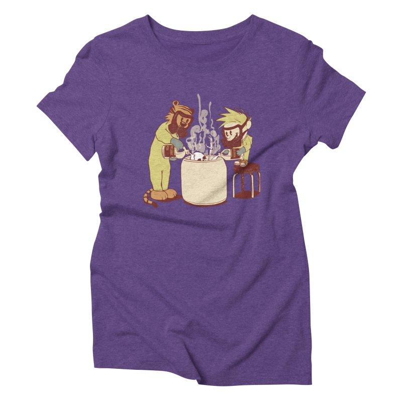(Dis)solving the Matter Women's Triblend T-Shirt by lopesco's Artist Shop