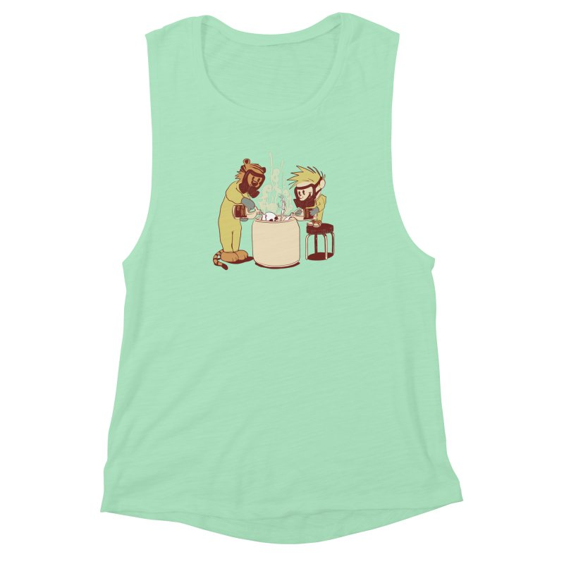 (Dis)solving the Matter Women's Muscle Tank by lopesco's Artist Shop