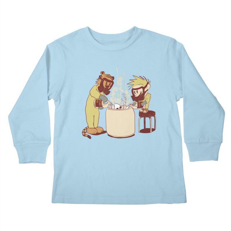 (Dis)solving the Matter Kids Longsleeve T-Shirt by lopesco's Artist Shop