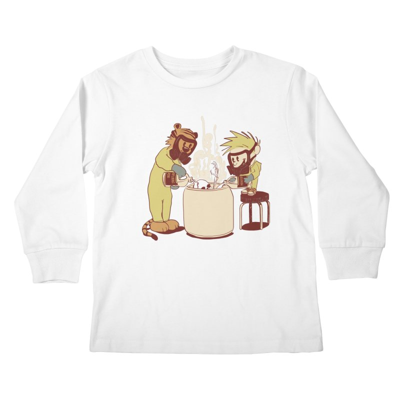 (Dis)solving the Matter Kids Longsleeve T-Shirt by lopesco's Artist Shop