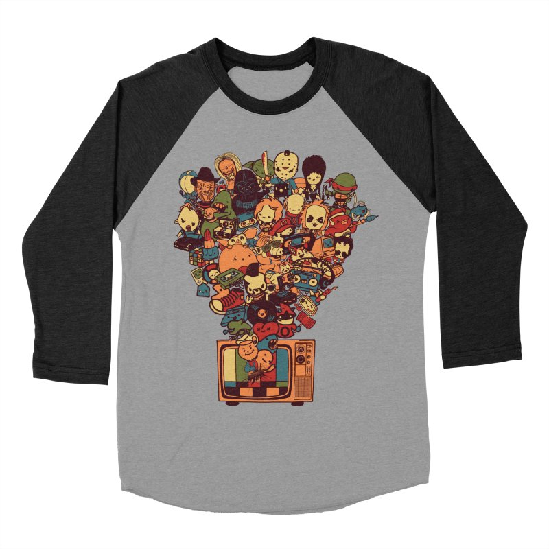 What I Have from the 80's Men's Baseball Triblend T-Shirt by lopesco's Artist Shop