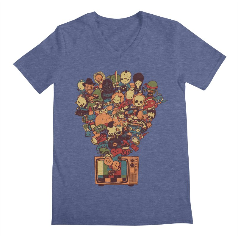 What I Have from the 80's Men's V-Neck by lopesco's Artist Shop