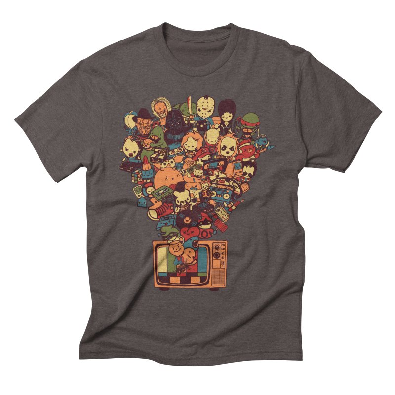 What I Have from the 80's Men's Triblend T-shirt by lopesco's Artist Shop