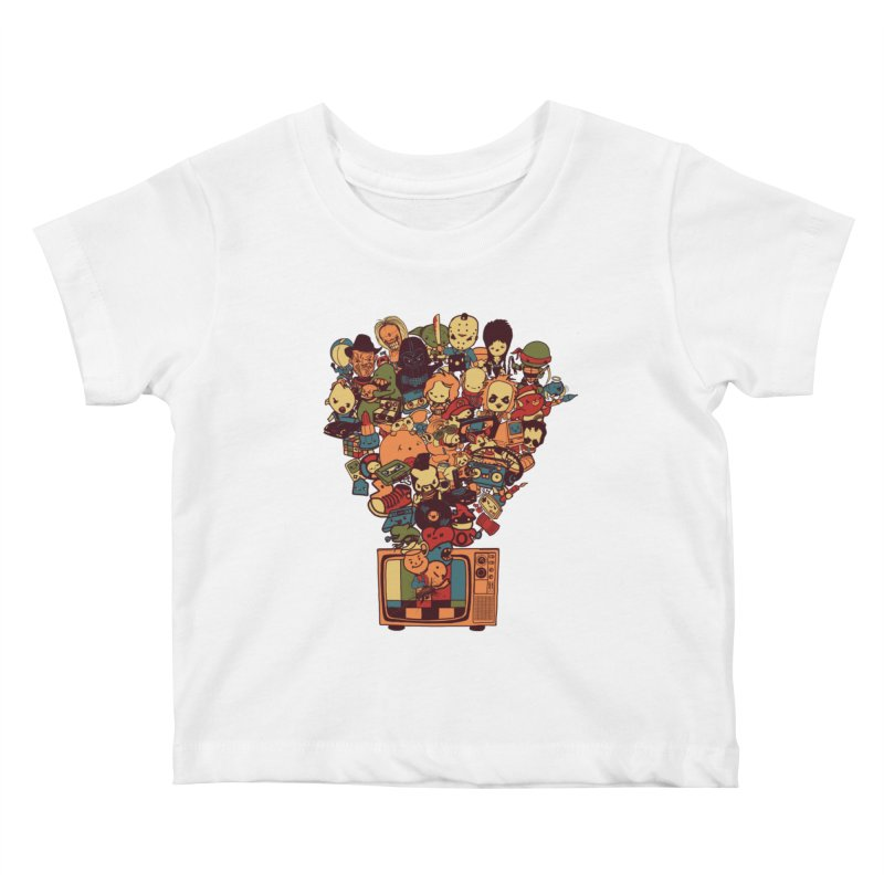 What I Have from the 80's Kids Baby T-Shirt by lopesco's Artist Shop