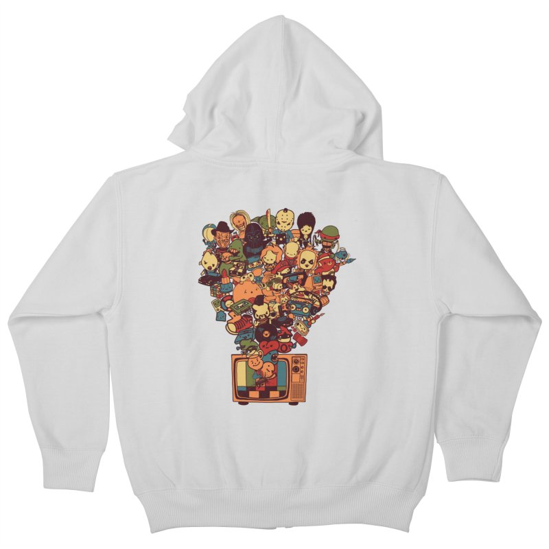 What I Have from the 80's Kids Zip-Up Hoody by lopesco's Artist Shop