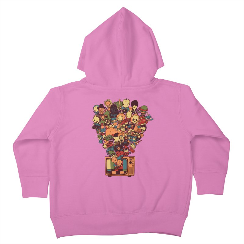 What I Have from the 80's Kids Toddler Zip-Up Hoody by lopesco's Artist Shop