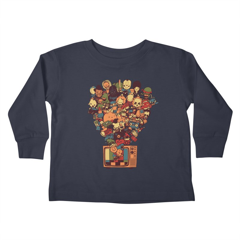 What I Have from the 80's Kids Toddler Longsleeve T-Shirt by lopesco's Artist Shop