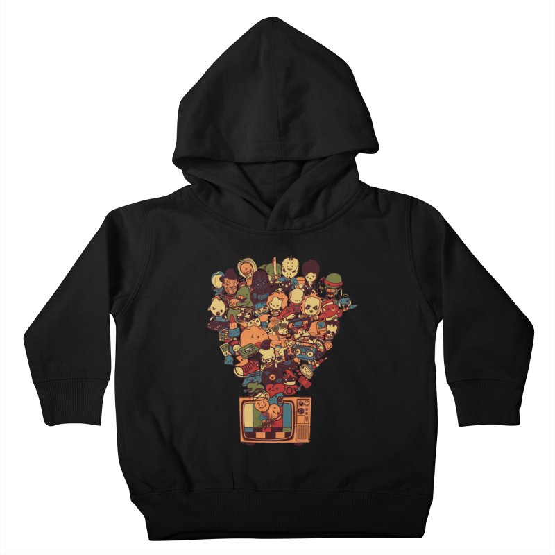 What I Have from the 80's Kids Toddler Pullover Hoody by lopesco's Artist Shop