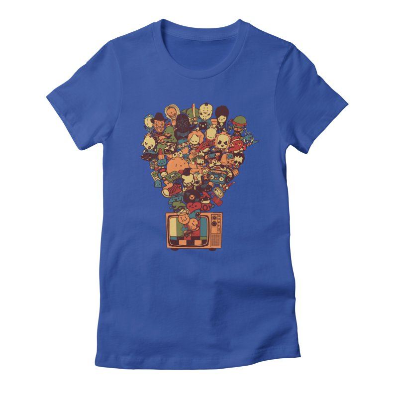 What I Have from the 80's Women's Fitted T-Shirt by lopesco's Artist Shop