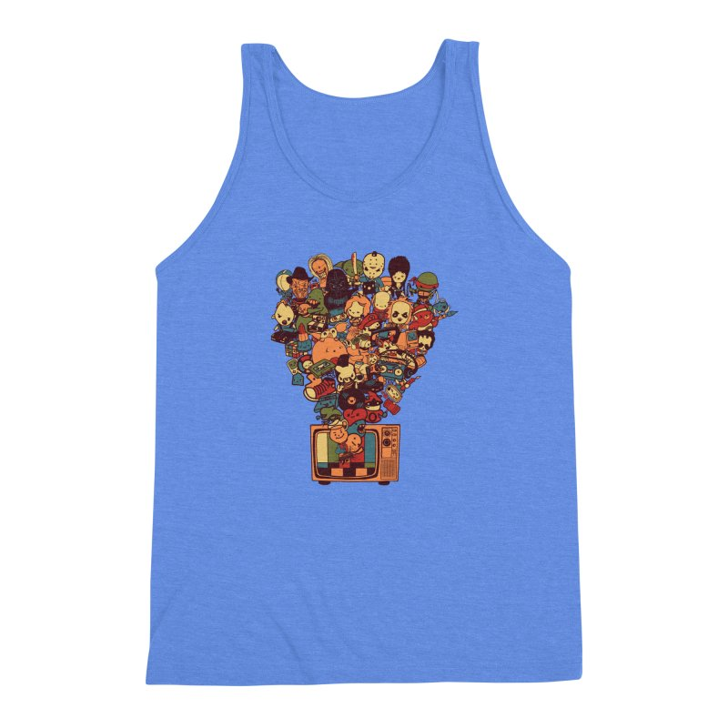 What I Have from the 80's Men's Triblend Tank by lopesco's Artist Shop