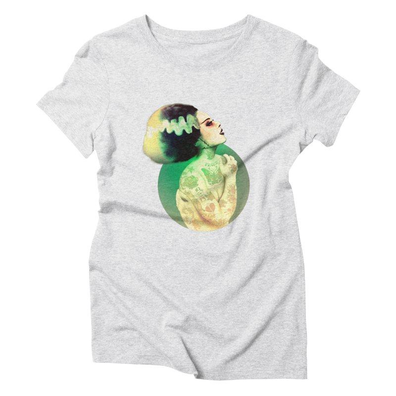 La Novia Women's Triblend T-shirt by lopesco's Artist Shop