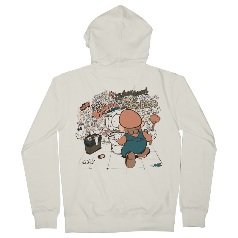 It's a Dirty Work, but... Men's Zip-Up Hoody by lopesco's Artist Shop