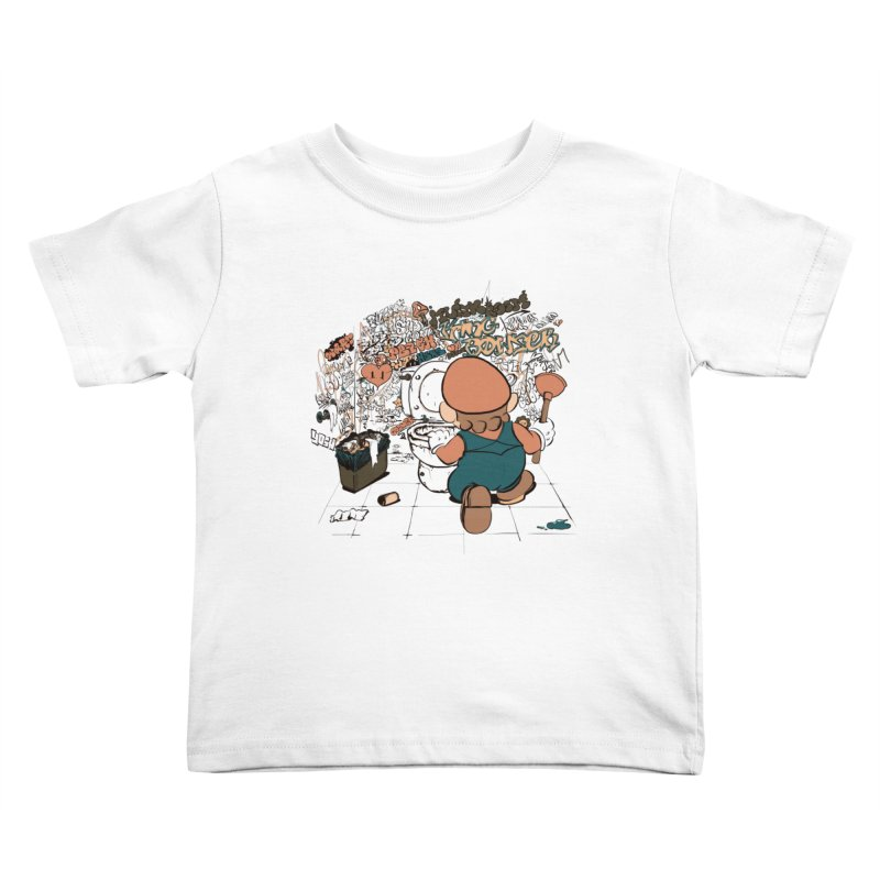It's a Dirty Work, but... Kids Toddler T-Shirt by lopesco's Artist Shop