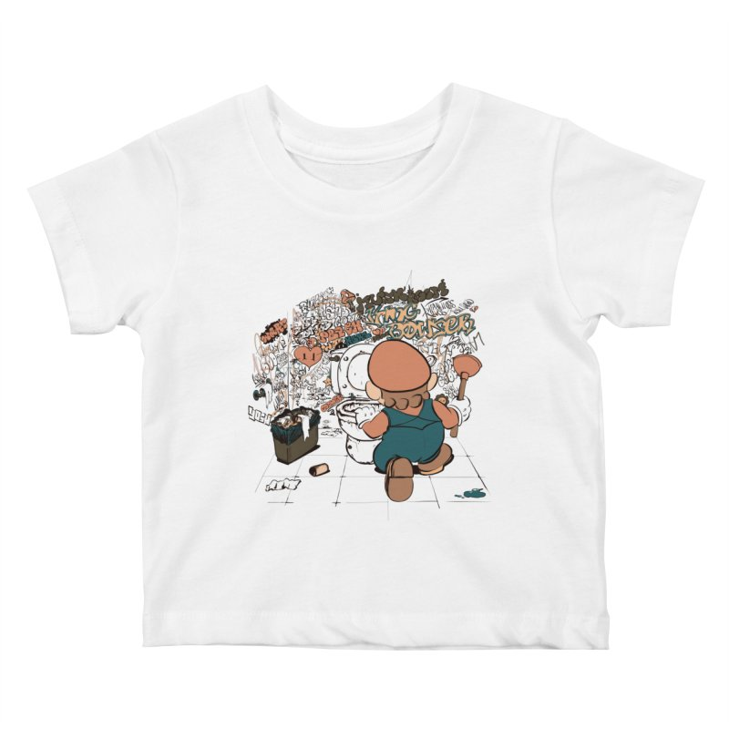 It's a Dirty Work, but... Kids Baby T-Shirt by lopesco's Artist Shop
