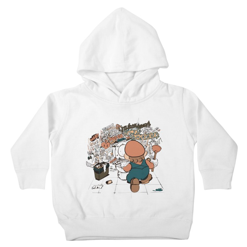 It's a Dirty Work, but... Kids Toddler Pullover Hoody by lopesco's Artist Shop