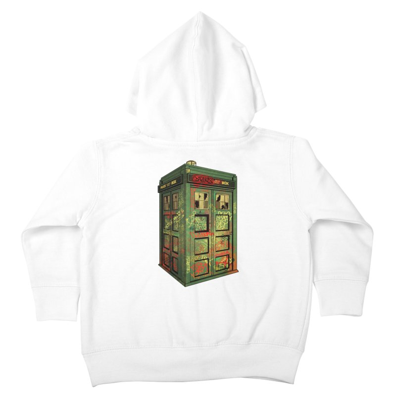 Sign O' the Times Kids Toddler Zip-Up Hoody by lopesco's Artist Shop