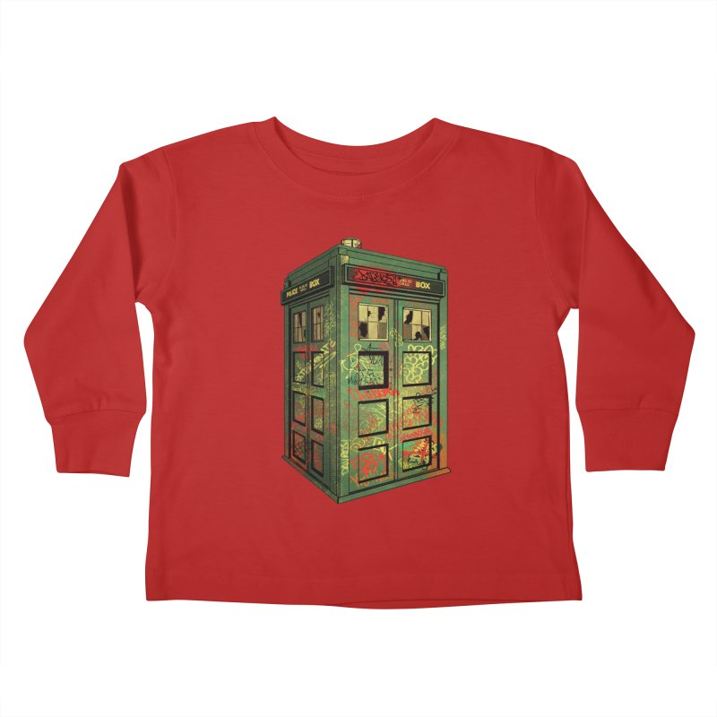 Sign O' the Times Kids Toddler Longsleeve T-Shirt by lopesco's Artist Shop