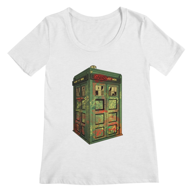 Sign O' the Times Women's Scoopneck by lopesco's Artist Shop