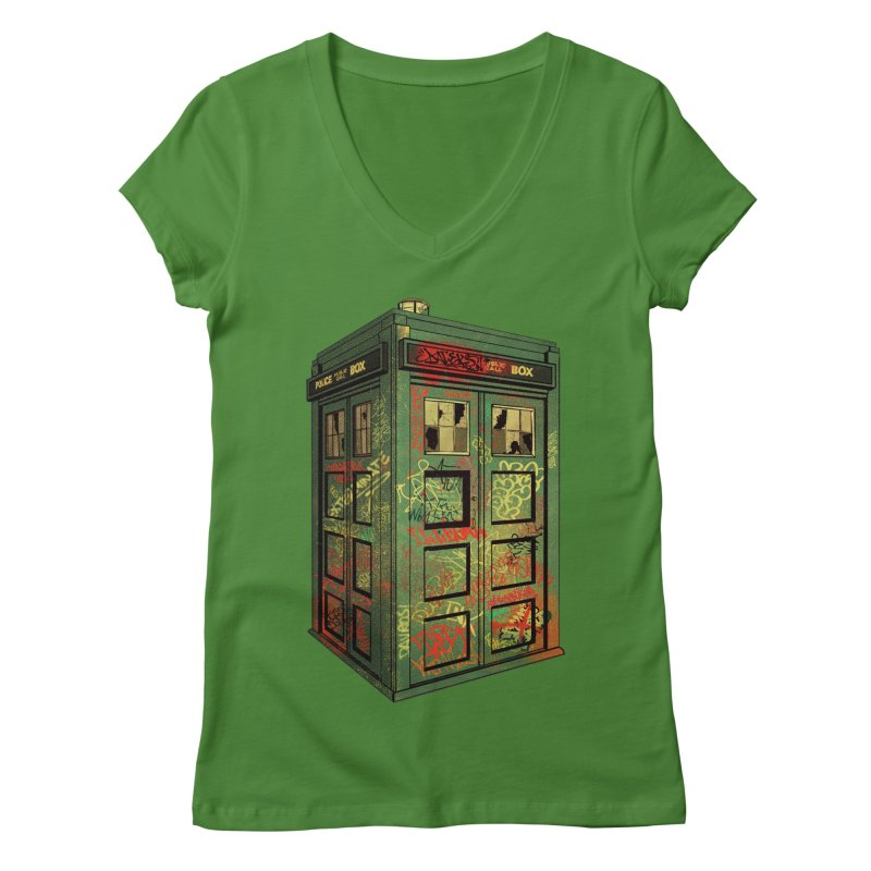 Sign O' the Times Women's V-Neck by lopesco's Artist Shop