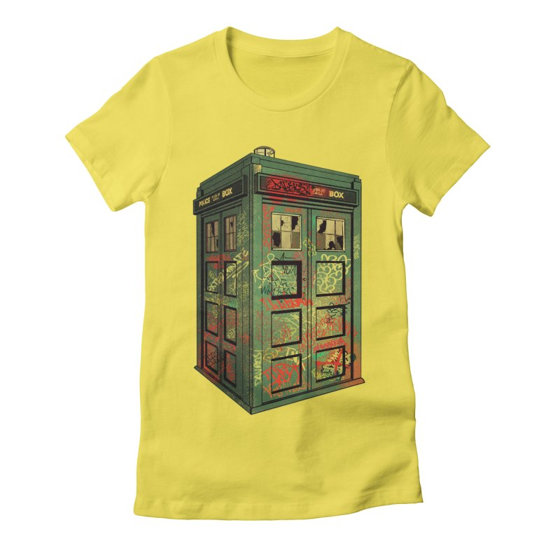 Sign O' the Times Women's Fitted T-Shirt by lopesco's Artist Shop