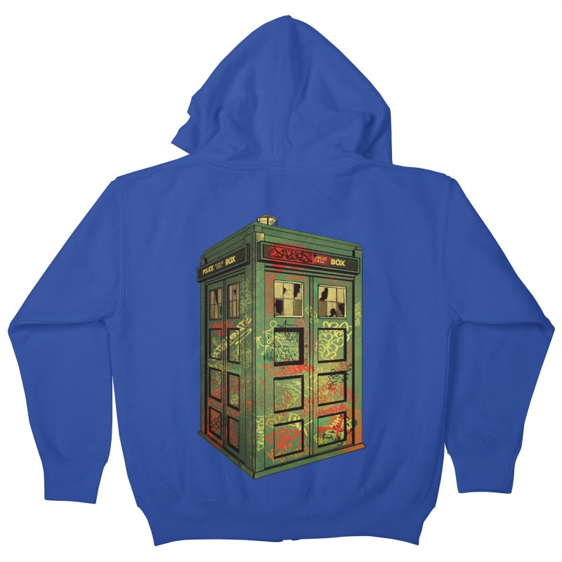 Sign O' the Times Kids Zip-Up Hoody by lopesco's Artist Shop
