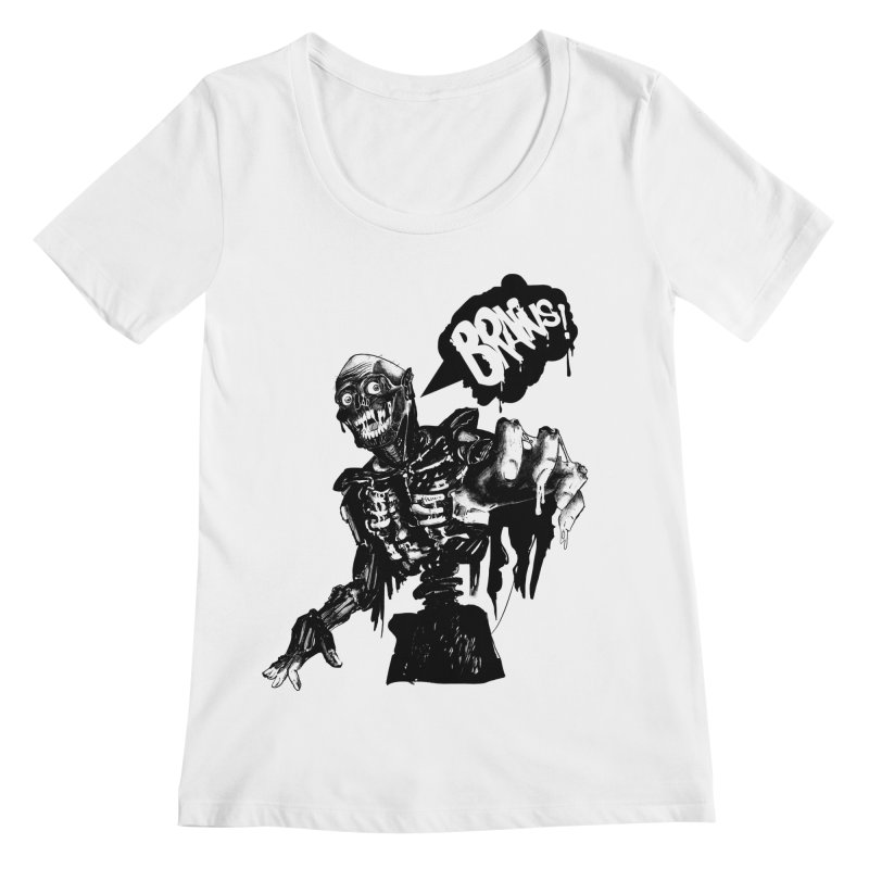 TRMN Women's Scoopneck by lopesco's Artist Shop