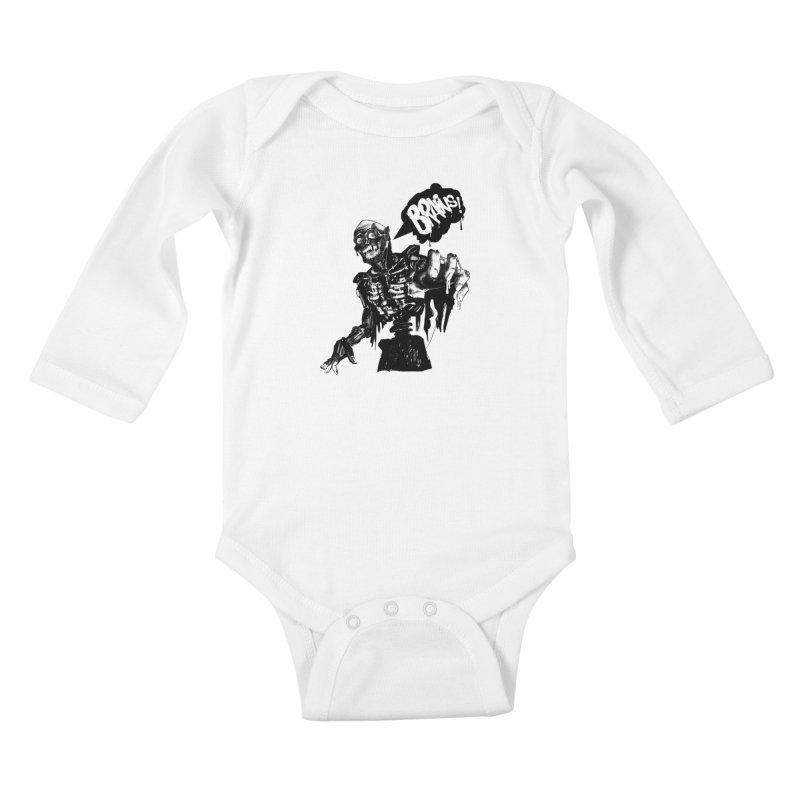 TRMN Kids Baby Longsleeve Bodysuit by lopesco's Artist Shop