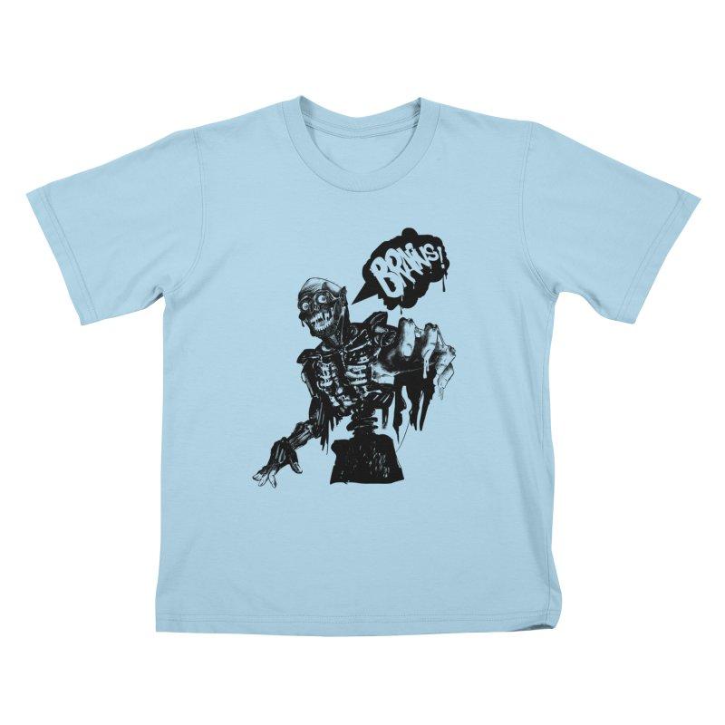 TRMN Kids T-shirt by lopesco's Artist Shop