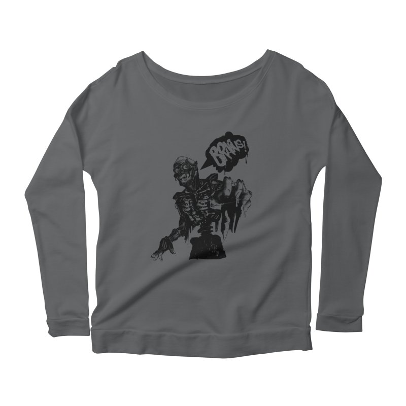 TRMN Women's Longsleeve Scoopneck  by lopesco's Artist Shop