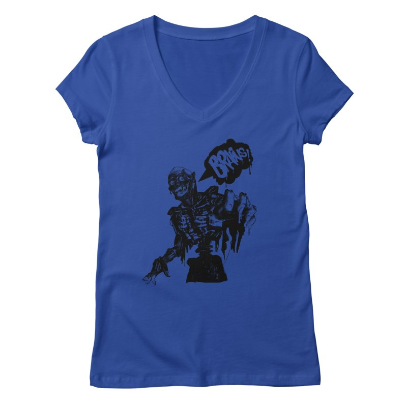 TRMN Women's V-Neck by lopesco's Artist Shop