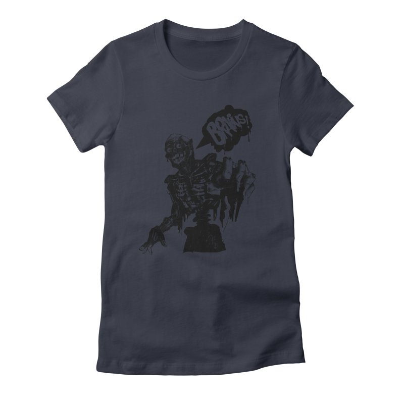 TRMN Women's Fitted T-Shirt by lopesco's Artist Shop