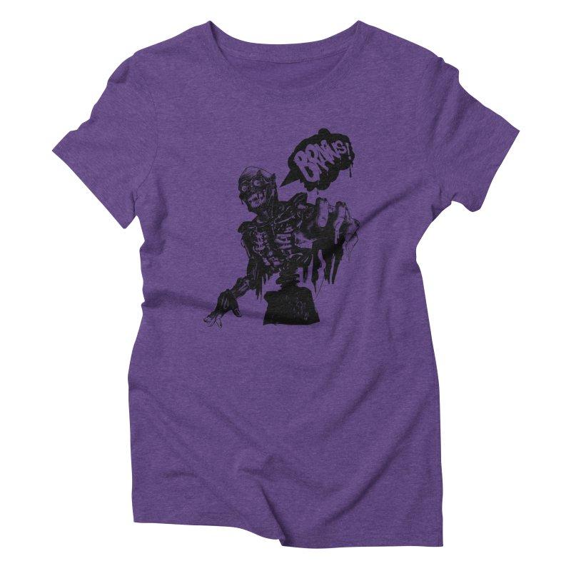 TRMN Women's Triblend T-shirt by lopesco's Artist Shop