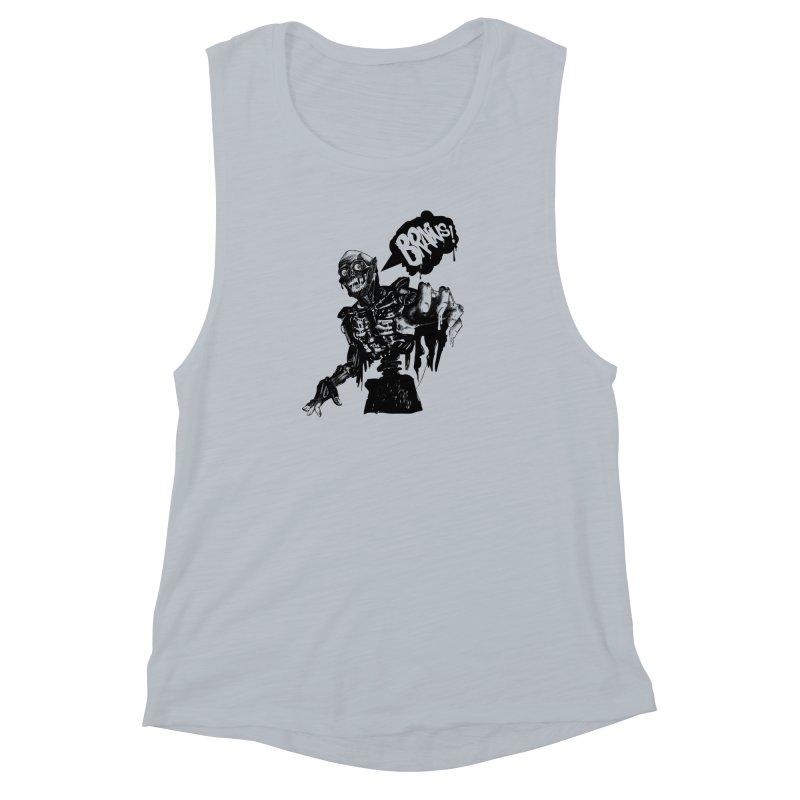 TRMN Women's Muscle Tank by lopesco's Artist Shop