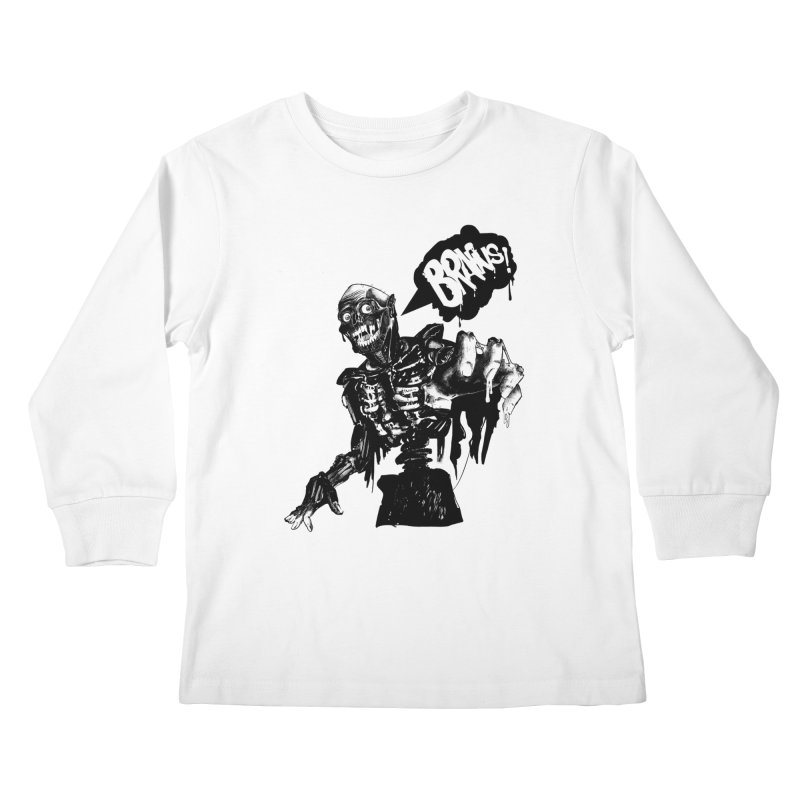 TRMN Kids Longsleeve T-Shirt by lopesco's Artist Shop
