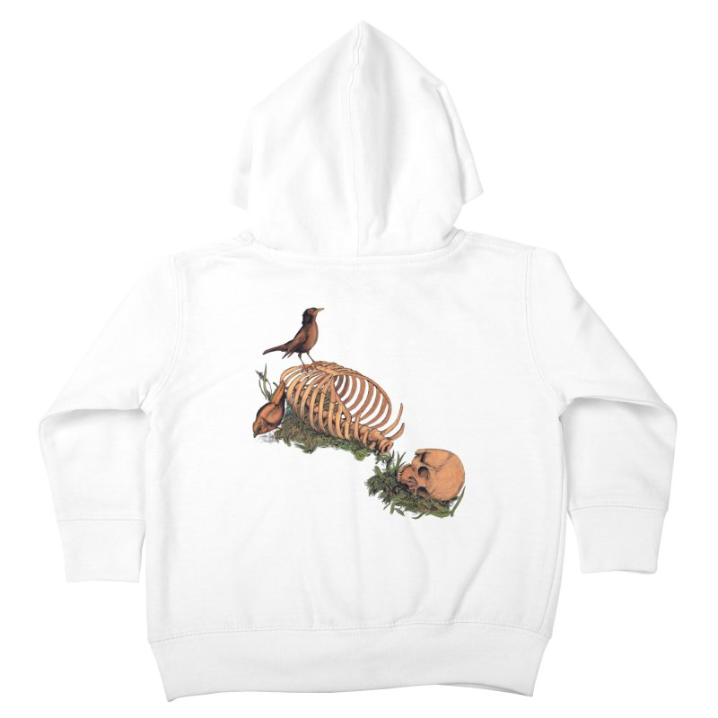 Still Life Speaking Kids Toddler Zip-Up Hoody by lopesco's Artist Shop