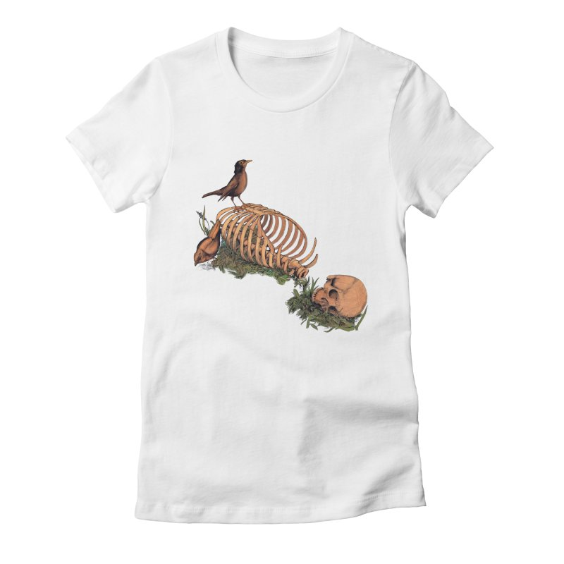 Still Life Speaking Women's Fitted T-Shirt by lopesco's Artist Shop