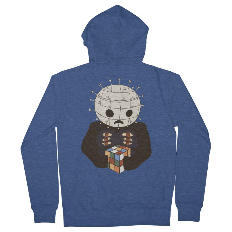 The Real 80's Horror Men's Zip-Up Hoody by lopesco's Artist Shop