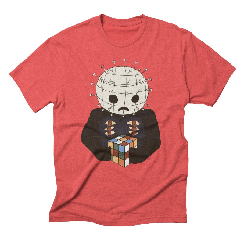 The Real 80's Horror Men's Triblend T-Shirt by lopesco's Artist Shop