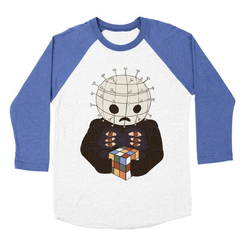 The Real 80's Horror Men's Baseball Triblend T-Shirt by lopesco's Artist Shop