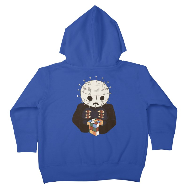 The Real 80's Horror Kids Toddler Zip-Up Hoody by lopesco's Artist Shop