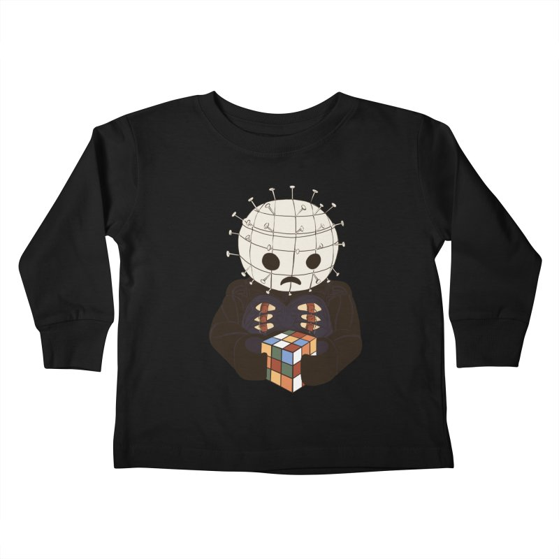 The Real 80's Horror Kids Toddler Longsleeve T-Shirt by lopesco's Artist Shop