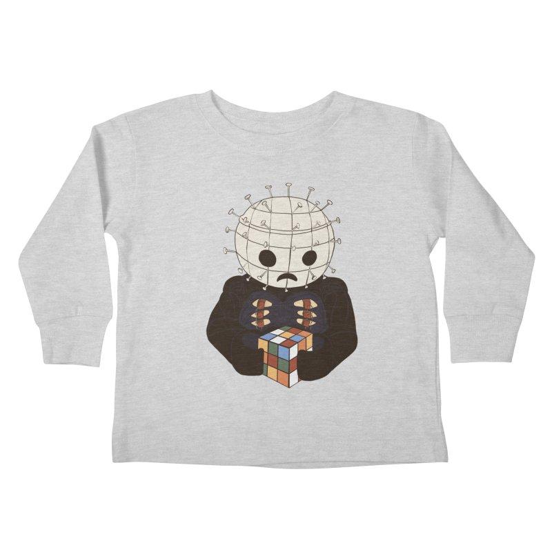The Real 80's Horror Kids Toddler Longsleeve T-Shirt by lopesco's Artist Shop