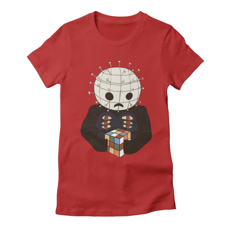 The Real 80's Horror Women's Fitted T-Shirt by lopesco's Artist Shop
