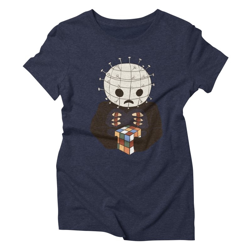 The Real 80's Horror Women's Triblend T-Shirt by lopesco's Artist Shop